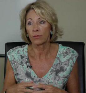 Betsy DeVos - Seriously?