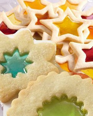 Magic Window Cookies - Recipe