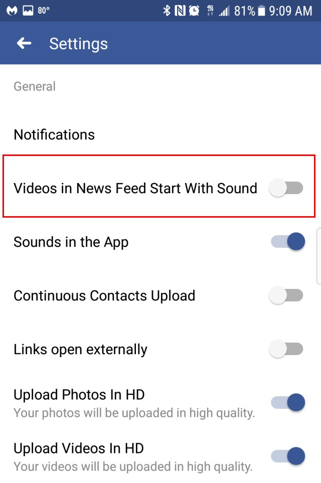 Make Facebook Wall Videos Stop Auto-Playing With Sound